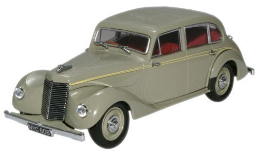 Oxford Diecast Langham Grey Armstrong Siddeley Lancaster - 1:43 Scale