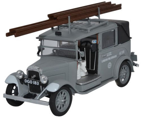 Oxford Diecast AFS Low Loader Taxi - 1:43 Scale