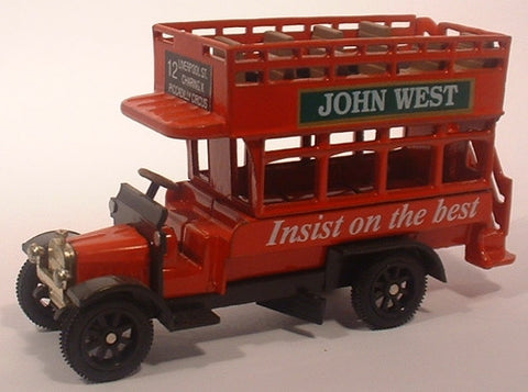 Oxford Diecast John West Bus - 1:76 Scale