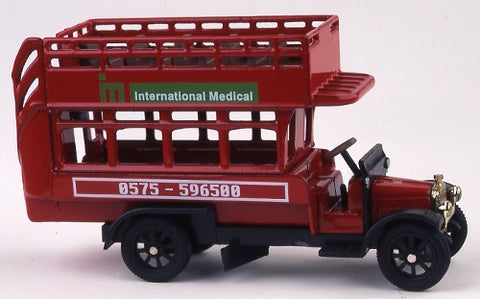 Oxford Diecast International Medical - 1:76 Scale