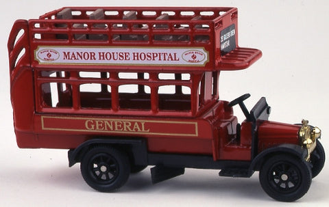 Oxford Diecast Manor House - 1:76 Scale