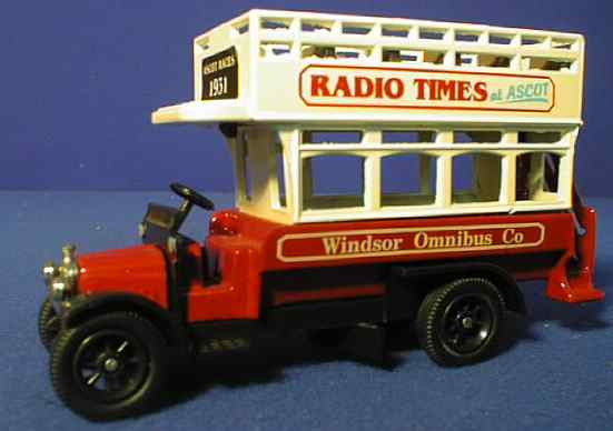 Oxford Diecast Radio Times - 1:76 Scale