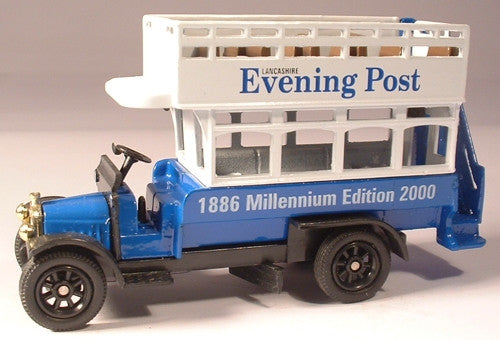 Oxford Diecast Lancashire Eve Post - 1:76 Scale