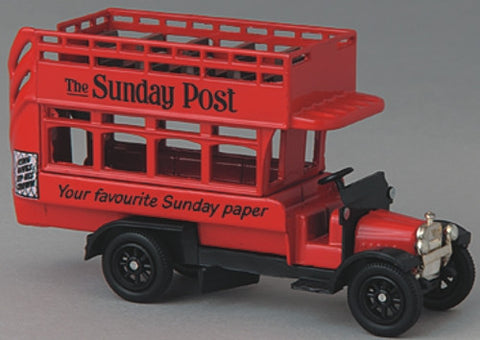 Oxford Diecast Sunday Post - 1:76 Scale