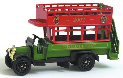 Oxford Diecast Christmas Vehicle 2002 - 1:76 Scale