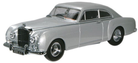 Oxford Diecast Shell Grey Bentley S1 Continental Fastback - 1:43 Scale