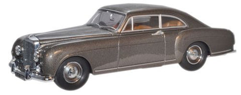 Oxford Diecast Gunmetal Bentley Continental - 1:43 Scale