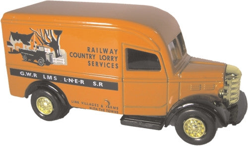 Oxford Diecast Railway Lorry Country