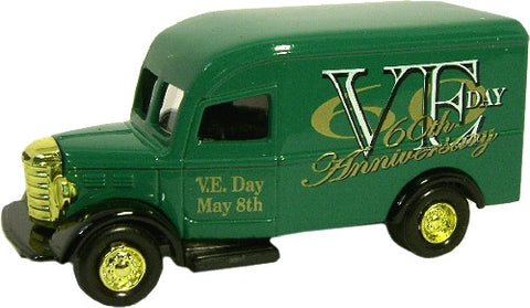 Oxford Diecast VE Day Van Green