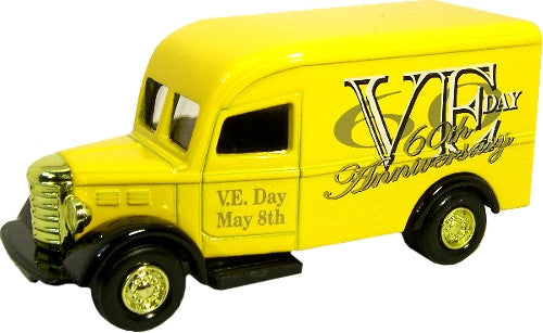 Oxford Diecast VE Day Van Yellow