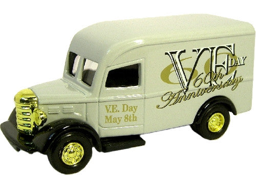Oxford Diecast VE Day Van Grey