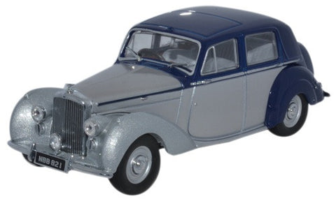 Oxford Diecast Bentley Mkvi Midnight Blue Shell Grey