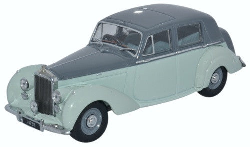 Oxford Diecast Bentley MKVI Two Tone Grey  Bergerac