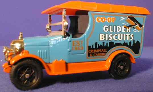 Oxford Diecast Gilder Biscuits (Co-op)
