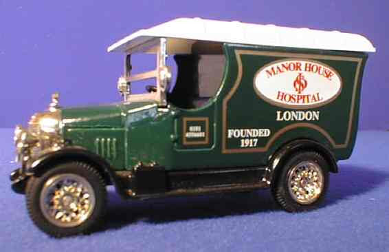 Oxford Diecast Manor House Hospital