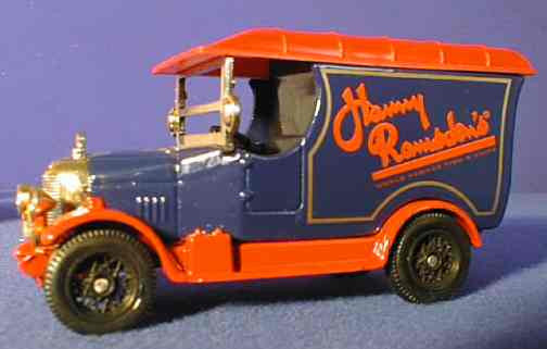 Oxford Diecast Harry Ramsden