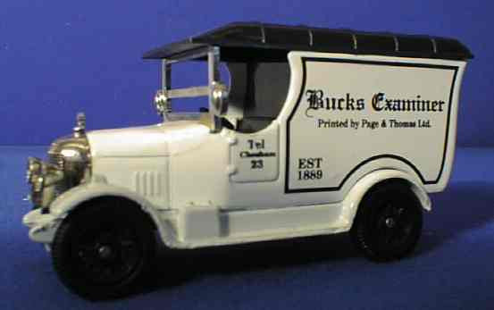 Oxford Diecast Bucks Examiner