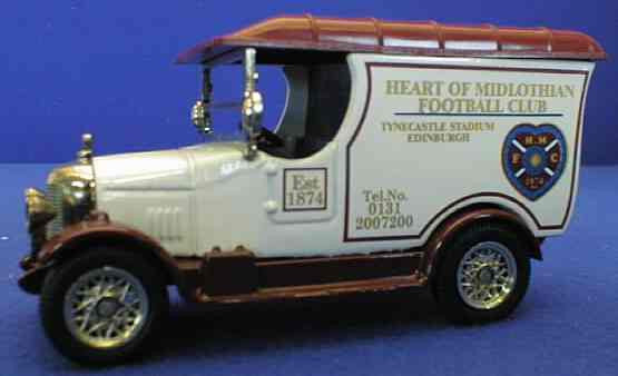 Oxford Diecast Heart of Midlothian