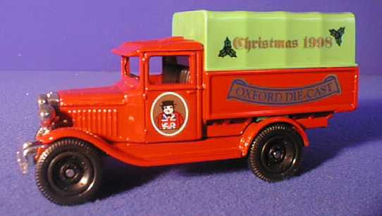 Oxford Diecast Christmas 1998