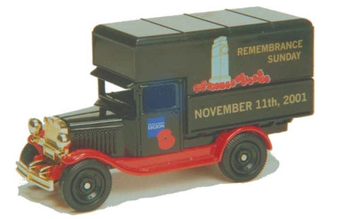 Oxford Diecast British Legion 2001
