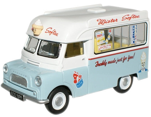 Oxford Diecast Mr Softee Bedford CA Ice Cream - 1:43 Scale