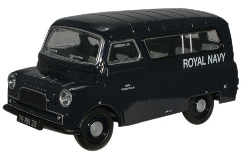 Oxford Diecast Royal Navy Bedford CA Minibus - 1:43 Scale