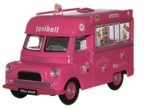 Oxford Diecast Tonibell Bedford CA Ice Cream with cow - 1:43 Scale
