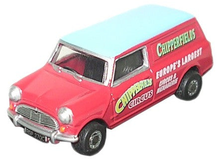 Oxford Diecast Chipperfields Mini Van - 1:76 Scale