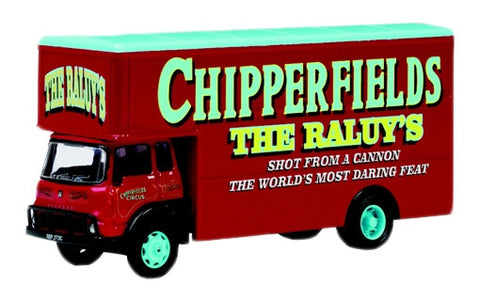 Oxford Diecast Chipperfield TK Pantechnicon - 1:76 Scale