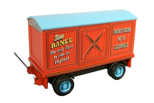 Oxford Diecast Elephant Trailer - 1:76 Scale