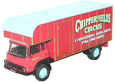 Oxford Diecast Chipperfield TK Horsebox - 1:76 Scale