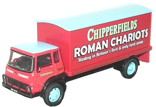 Oxford Diecast Chipperfield TK Box Van - 1:76 Scale
