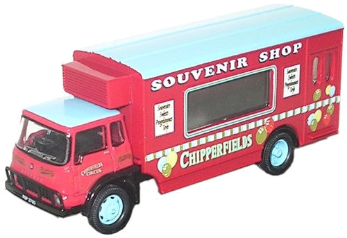 Oxford Diecast Chipperfield Mobile Shop - 1:76 Scale