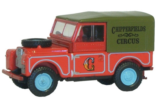 "Oxford Diecast Land Rover Series 1 88"" Canvas - 1:76 Scale"