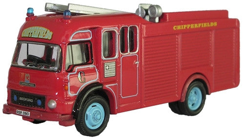 Oxford Diecast Bedford TK Fire Engine - 1:76 Scale