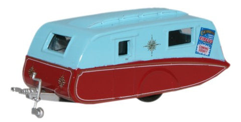 Oxford Diecast Chipperfield Caravan - 1:76 Scale