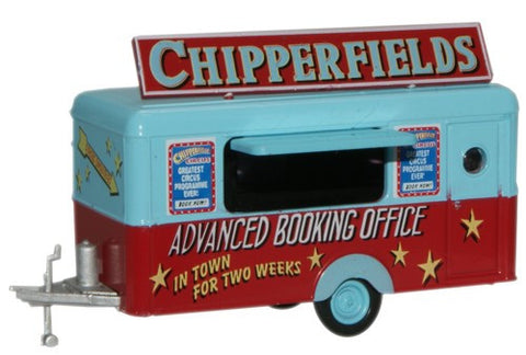 Oxford Diecast Chipperfield Mobile Trailer - 1:76 Scale