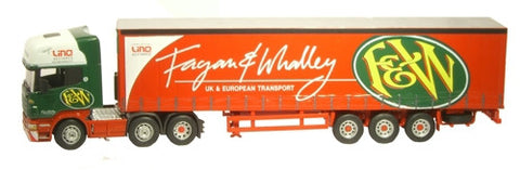 CARARAMA Cararama Fagan & Whalley Scania - 1:50 Scale - OxfordDiecast