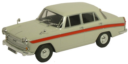 CARARAMA Cararama Grey/Red Austin Cambridge - 1:43 Scale - OxfordDiecast