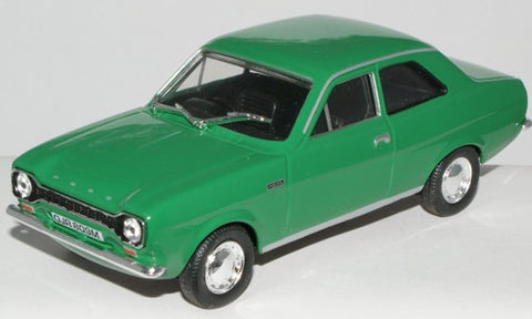 CARARAMA Ford Escort MK1 1300XL Modena Green - 1:43 Scale - OxfordDiecast