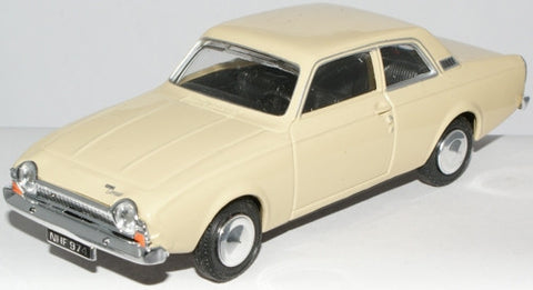 CARARAMA Ford Corsair Tuscan Yellow - 1:43 Scale - OxfordDiecast