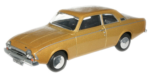 CARARAMA Ford Corsair Amber Gold - 1:43 Scale - OxfordDiecast