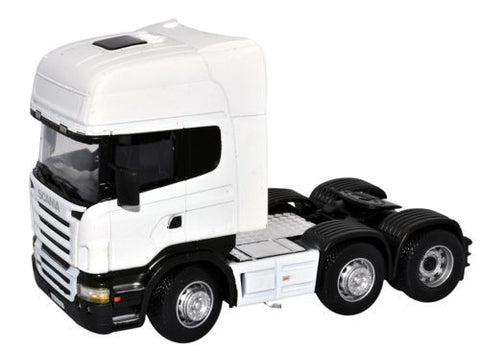 CARARAMA Scania 1_50 Scale Cab White - 1:50 Scale - OxfordDiecast