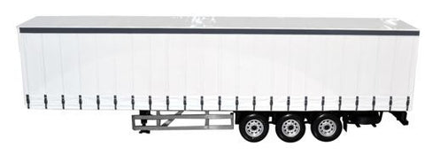 CARARAMA 1_50 Scale Trailer White - 1:50 Scale - OxfordDiecast