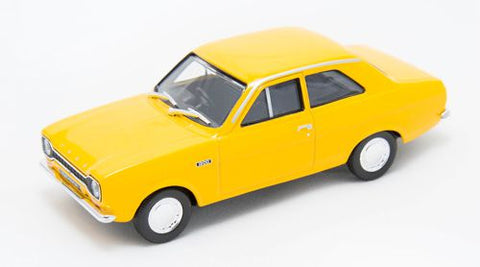 Cararama Ford Escort Mk1 Daytona Yellow