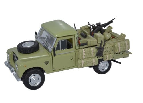CARARAMA Military Land Rover Series III - 1:43 Scale - OxfordDiecast