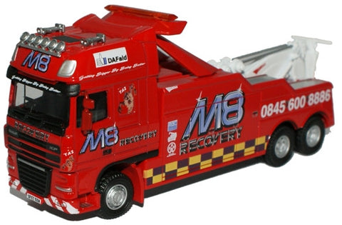 Oxford Diecast M8 Recovery DAF 105 (SS) Boniface Recovery  - 1:76 Scal