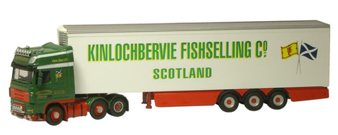 Oxford Diecast Kinlochbervie DAF Fridge - 1:76 Scale