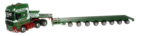 Oxford Diecast Cadzow DAF 105 Low Loader - 1:76 Scale