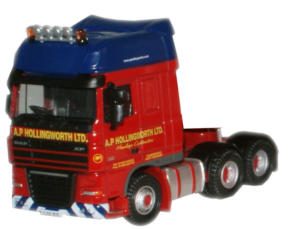 Oxford Diecast A P Hollingworth Cab - 1:76 Scale